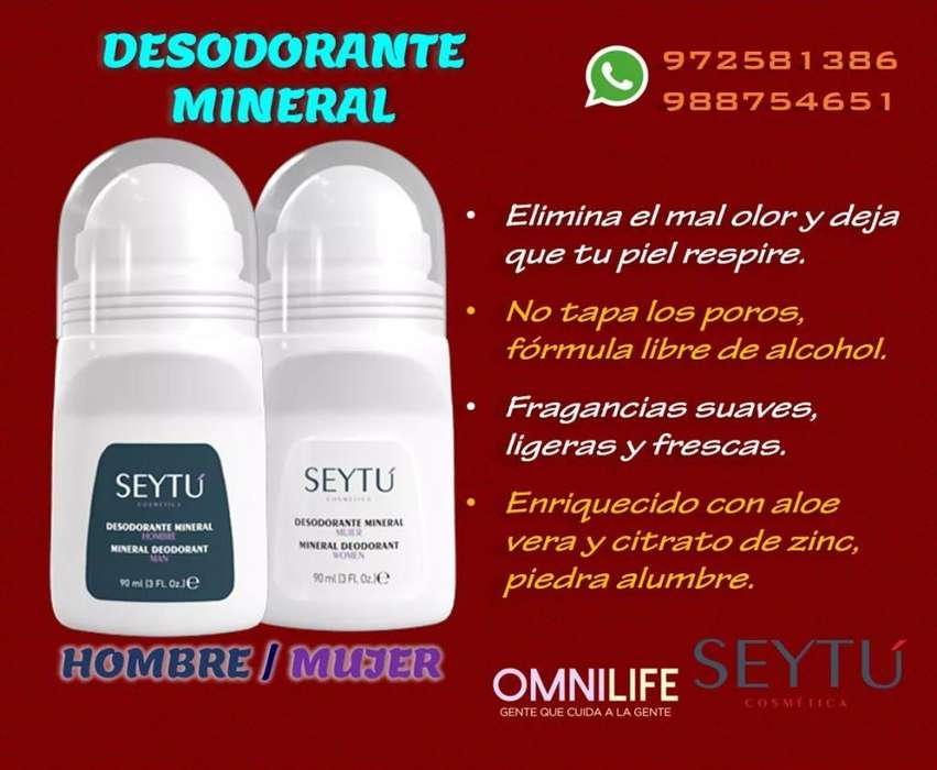 Desodorante Mineral
