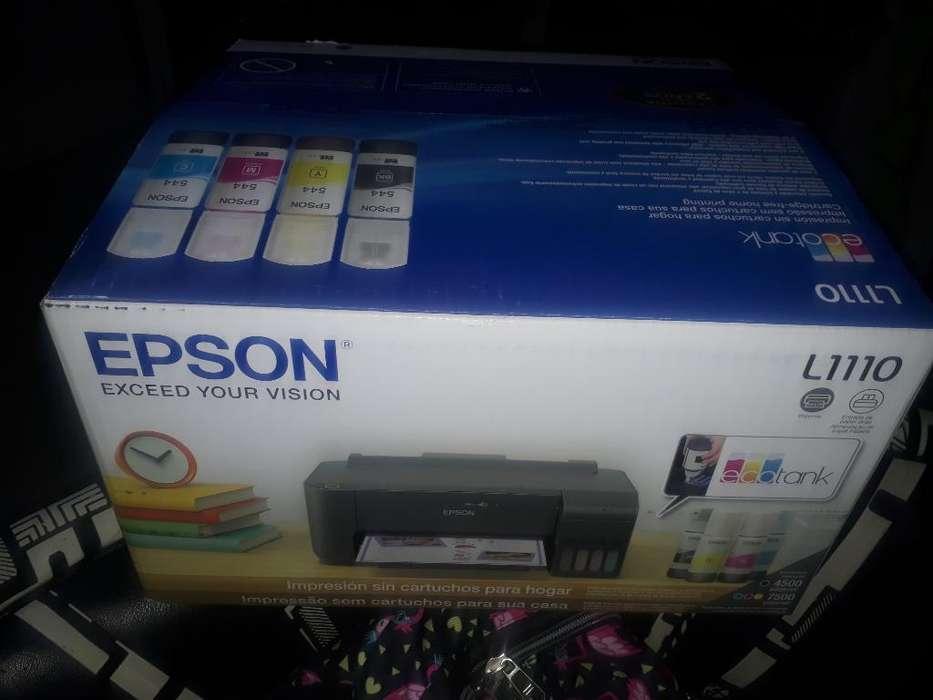 Vendo Impresora Epson Casi Nueva