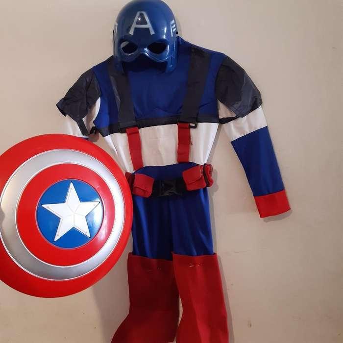 Disfraz Capitan America 4-5