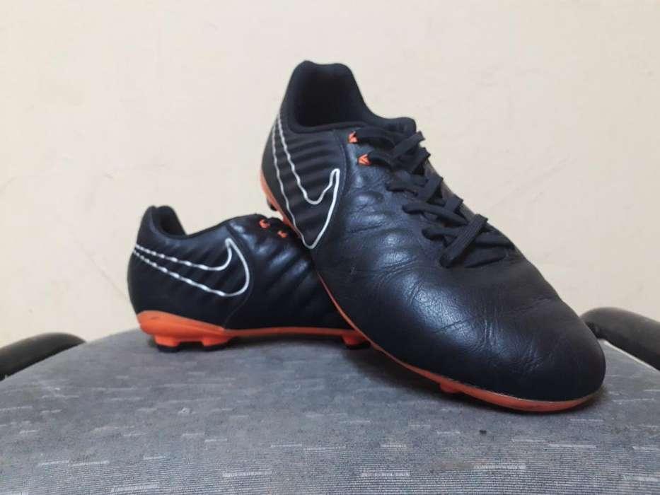 Botines Nike Tiempo - Talle 38