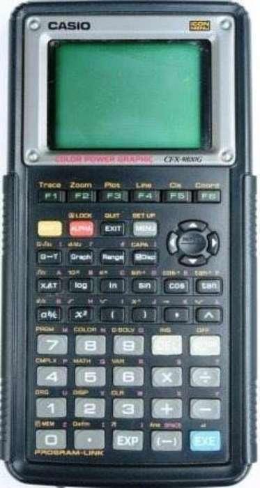 Graficadora Casio Gfx 9800g
