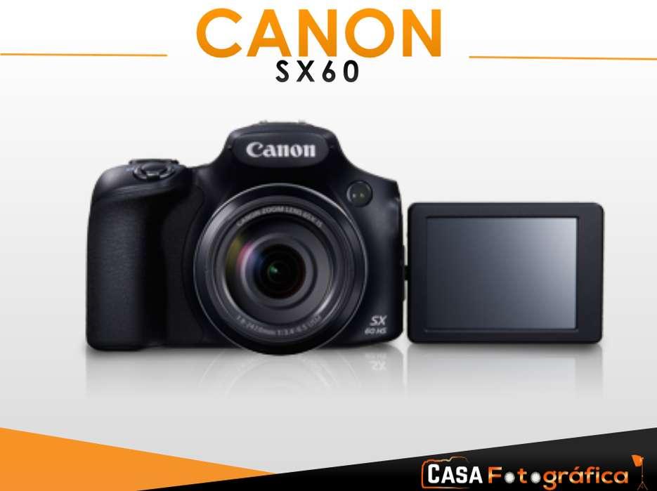 Camara Canon Powershot Sx60 65x Super Zoom Wifi Nfc Full Hd Entrada para microfono
