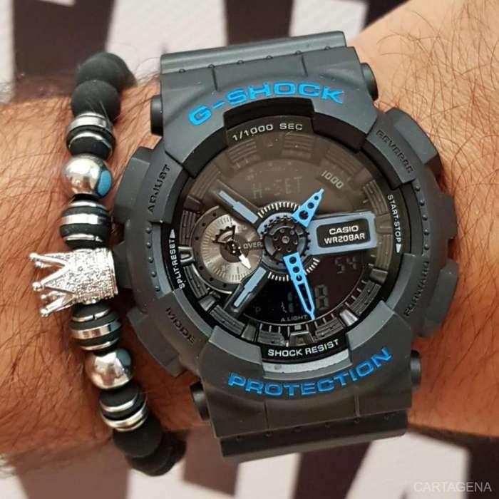 Reloj Casio G-Shock con azul para hombre en venta