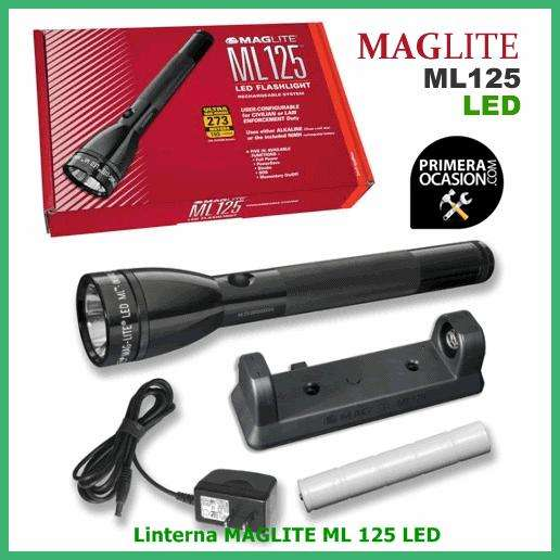 Linterna Recargable MAGLITE ML125 .*. NUEVO .*.
