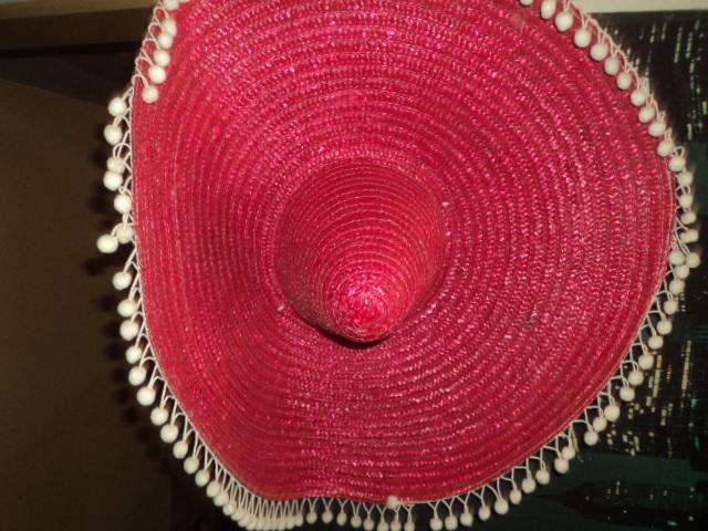 2 sombrero tipo mexicano