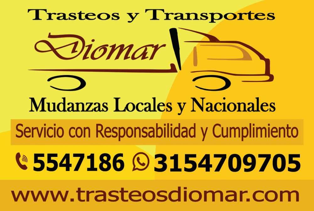 Trasteos DIOMAR, Mudanzas Y Trasteos Cali