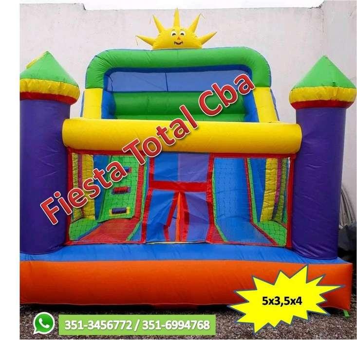 Alquiler de castillos inflables, cama elastica, castillos acuaticos, tejo
