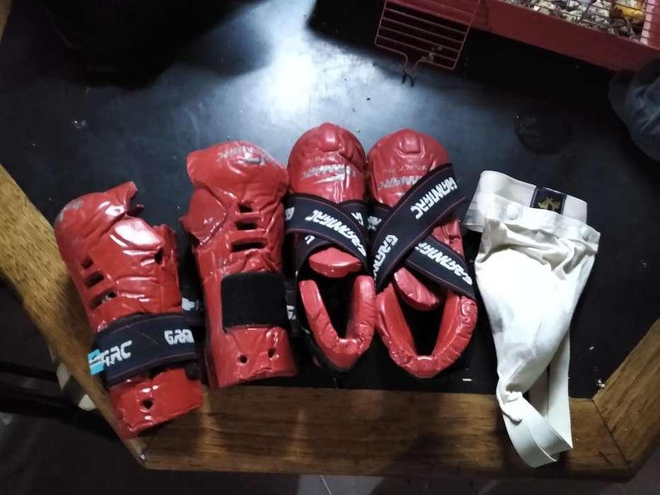 Kit Prorectores Taekwondo