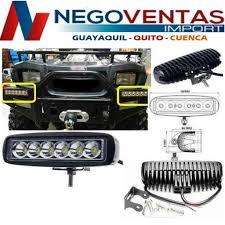 BARRA LED DE 18 WATTS RECTANGULAR PARA CARRO