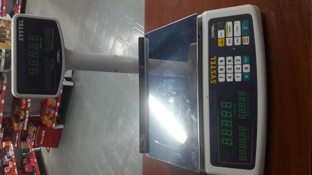 BALANZA SYSTEL CROMA 15KGS