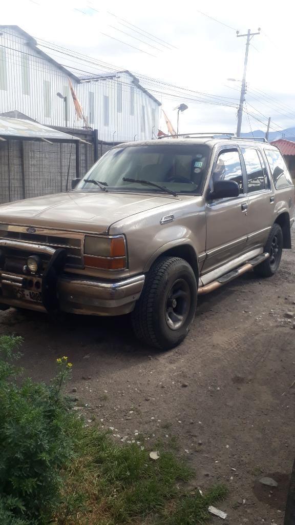 Vendo Ford Explorer 94 Motor Reparado