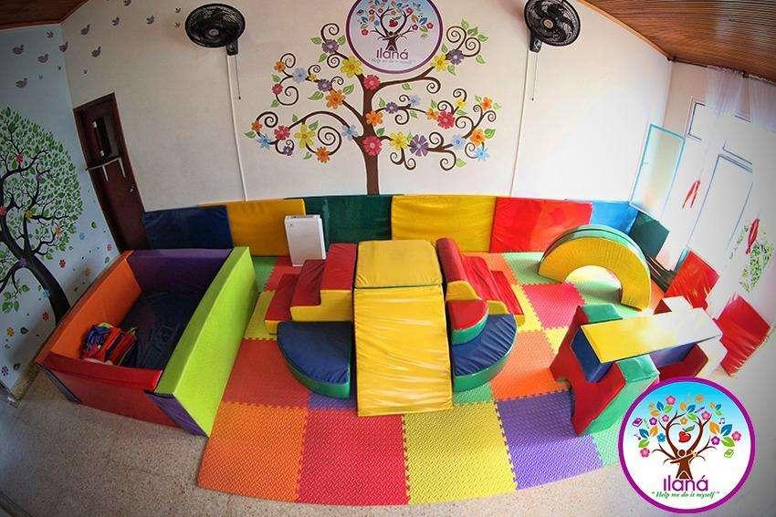 Montaje para jardín infantil.