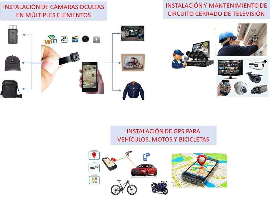 Instalación de cámaras y minicamaras