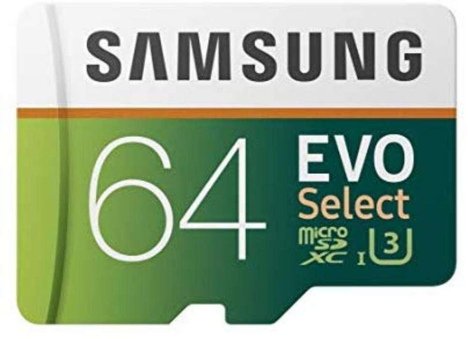Tarjeta de Memoria Samsung 64gb 100mb/s