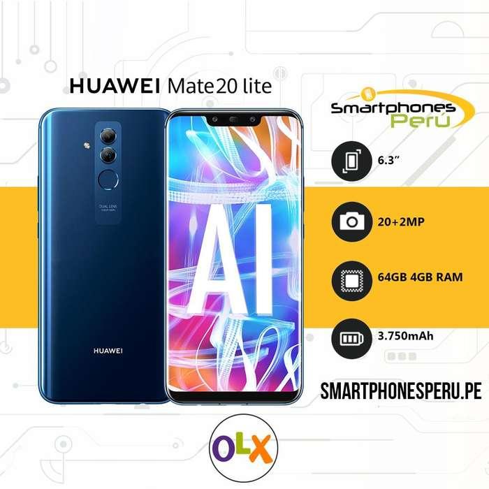 Huawei Mate 20 Lite •4GB RAM Procesador Kirin 710• Smartphonesperu.pe