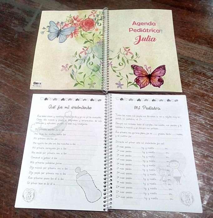 Cuadernos pediatricos personalizados