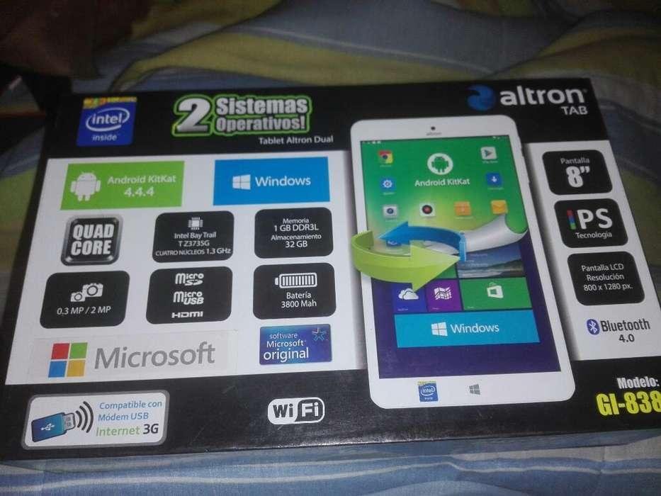 Tablet Altron Dual Os - 8'quadcore Intel
