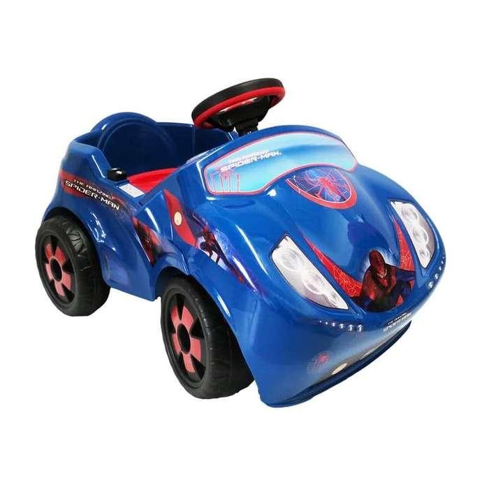 CARRO FIRE CAR 6V, THE AMAZING SPIDER -MAN INJUSA