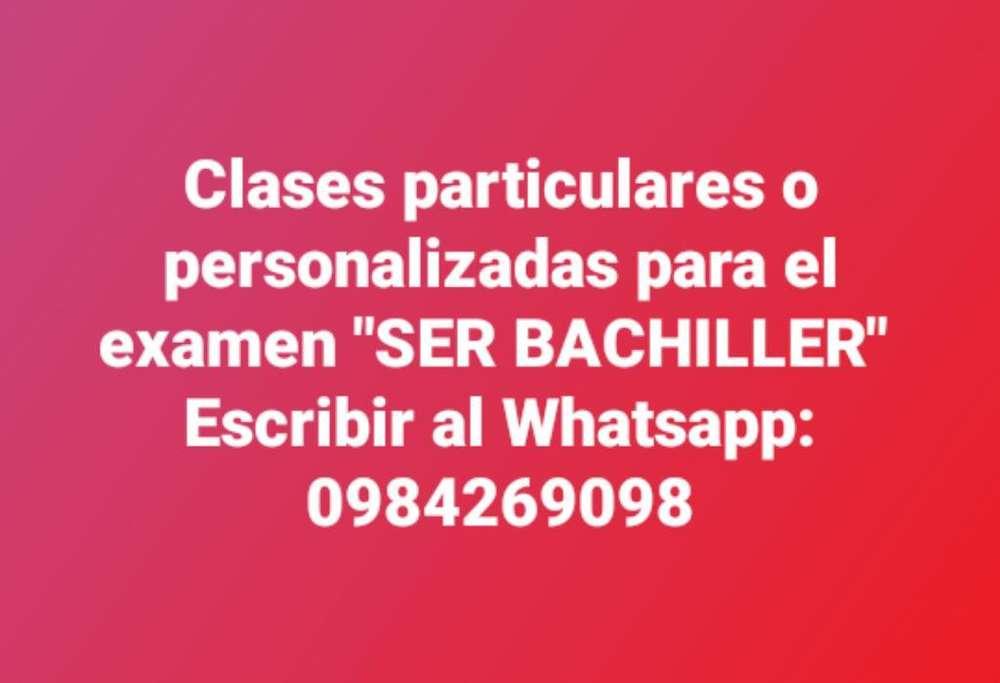Clases Paraser Bachiller Exonera Etc
