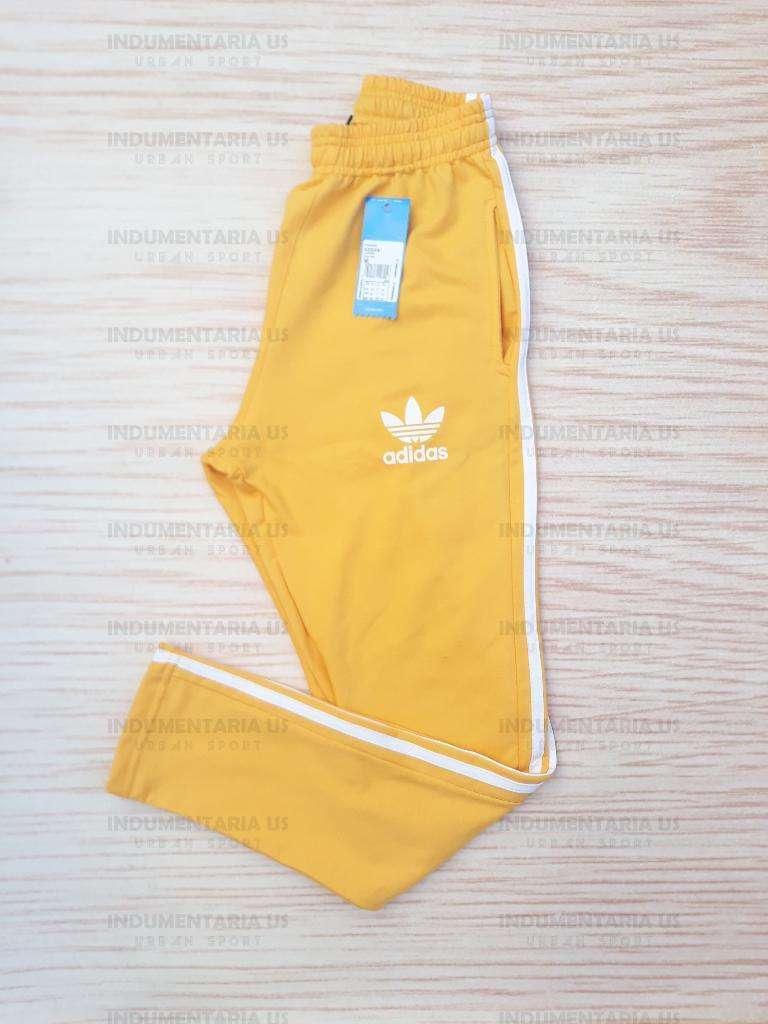 completamente elegante nuevo autentico diseñador nuevo y usado Pantalon Adidas Amarillo Algodon - Capital Federal