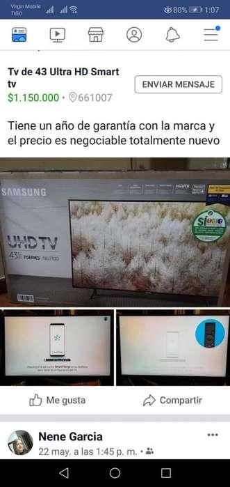 TV UHD 43 Samsung