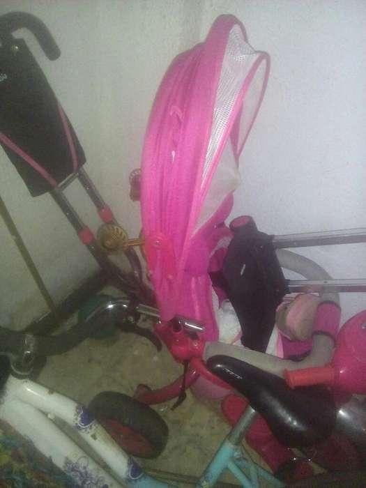 Triciclo Mobilu para Niña en Buen Estado