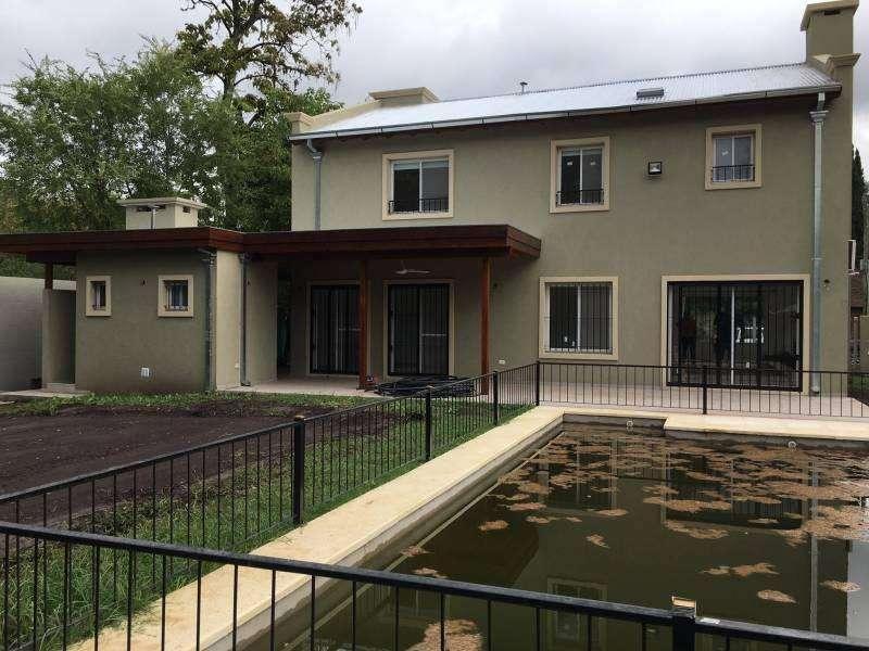 Casa en alquiler, Barrio Herradura, Pilar