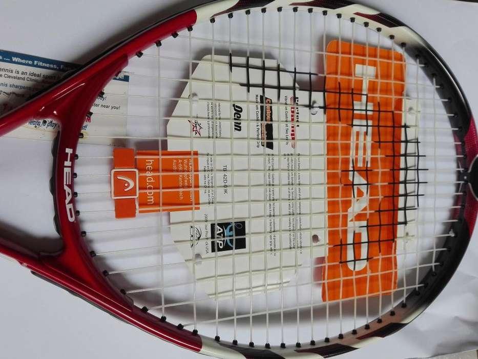 Raqueta con estuche Pro Tour NUEVA marca HEAD
