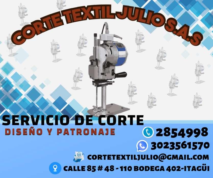 Servicio de Corte Textil, Diseño y Patronaje en Medellín