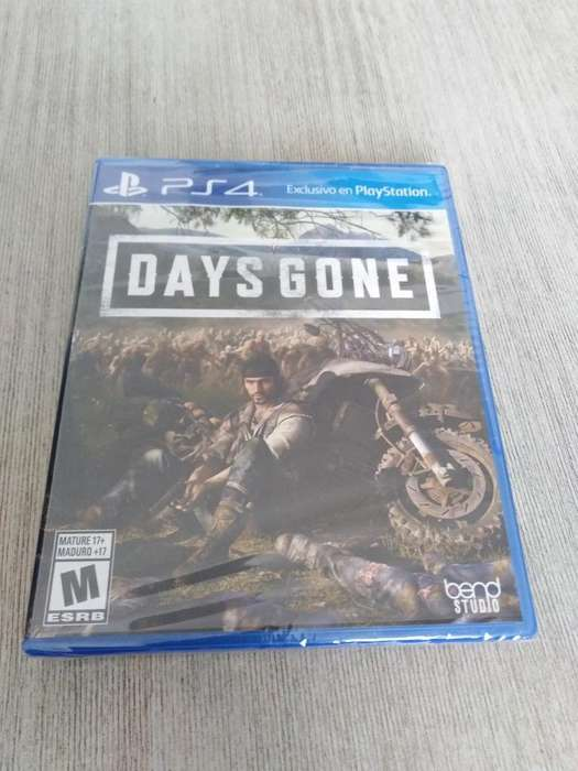 Vendo Days Gone Ps4