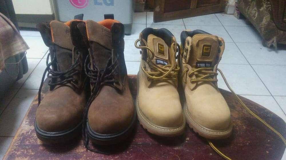 Zapatos Cat Y Timberlan