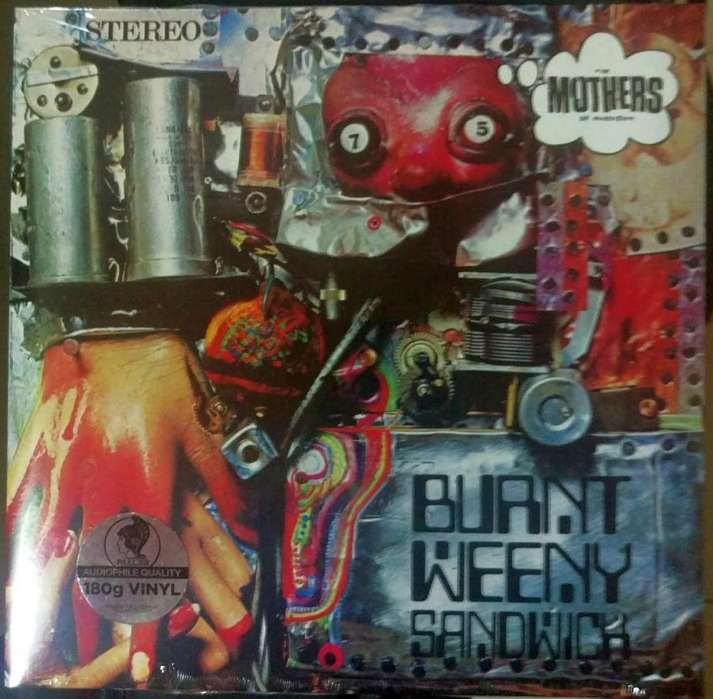 Disco LP vinilo Frank Zappa Burnt Weeny Sandwich