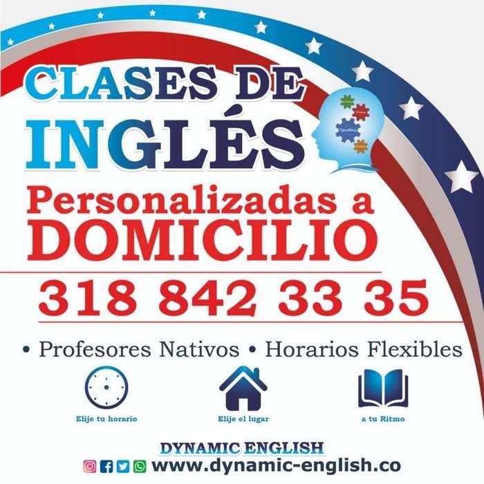 Clases de Inglés a domicilio en Medellin con profesores nativos