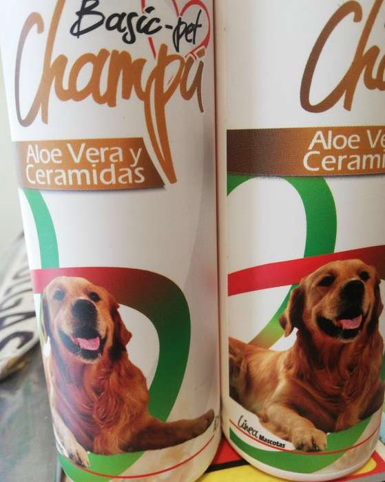 Shampoo Basic Pet Aloe Vera Y Ceramidas