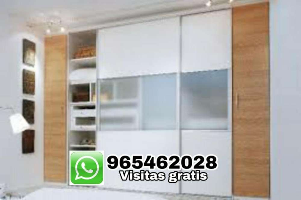 Closet Melamina C Puertas Corredizas