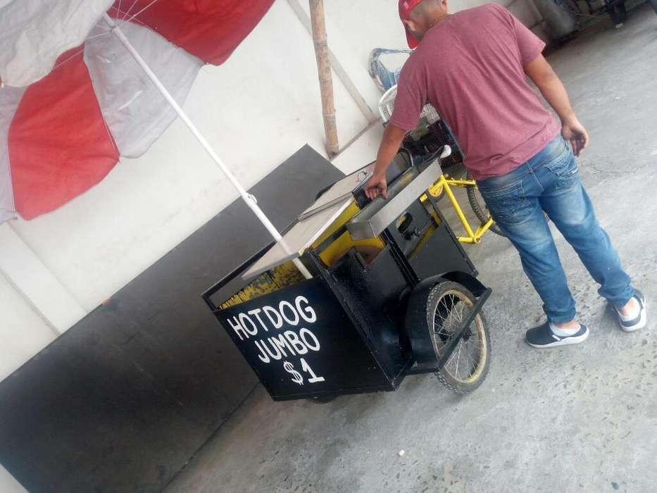 Se Vende Triciclo de Hot Dog