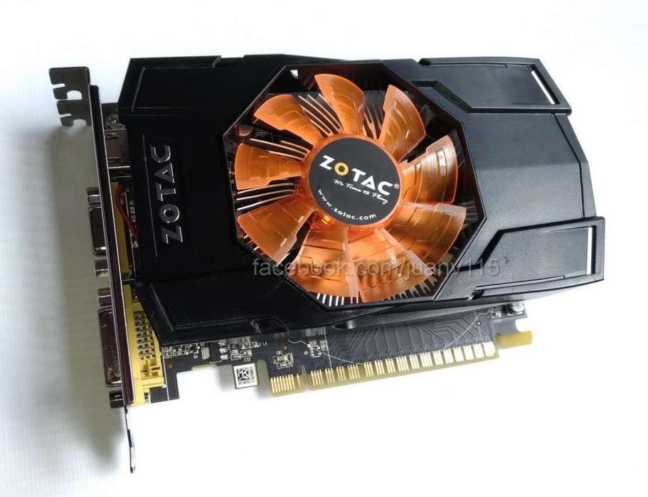 Tarjeta de video gtx 750 ti 1gb