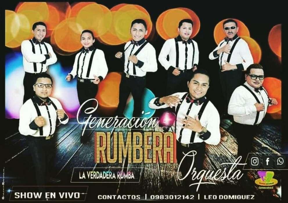 Generacion Rumbera Orquesta en Vivo