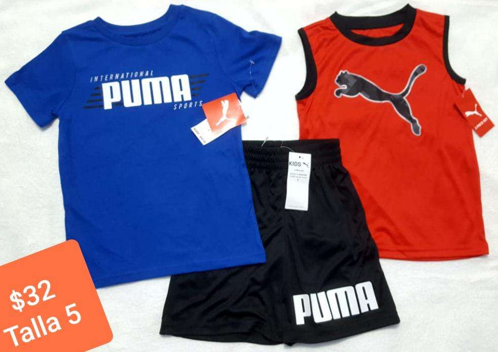 ropa de niño deportiva