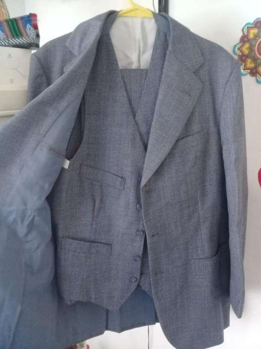 <strong>traje</strong> Clasico Completo Gris