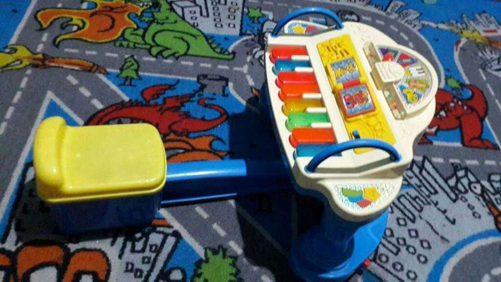 Piano Fisher Price Funcionando Perfecto