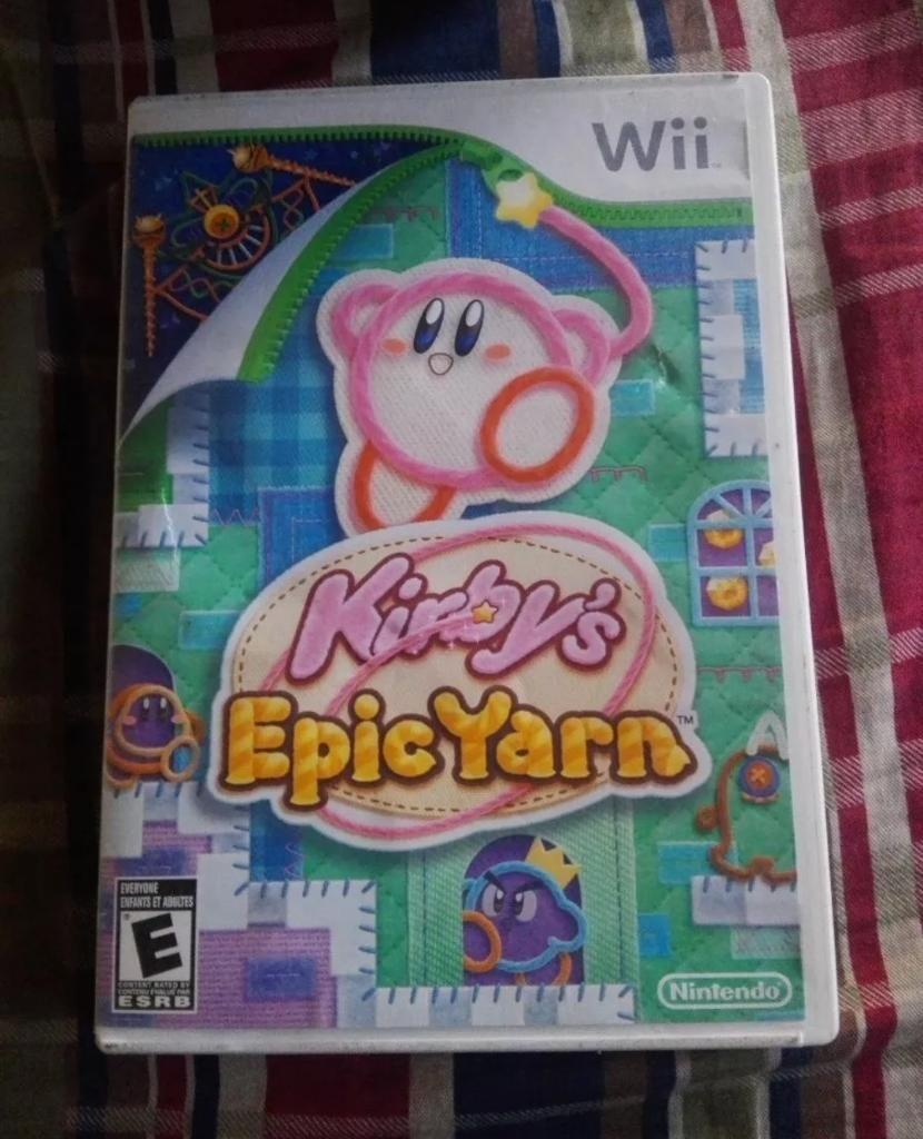 Kirby Epic Yard Wii