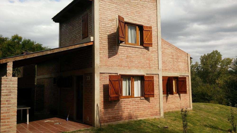 rg66 - Cabaña para 2 a 5 personas con cochera en Villa Yacanto De Calamuchita