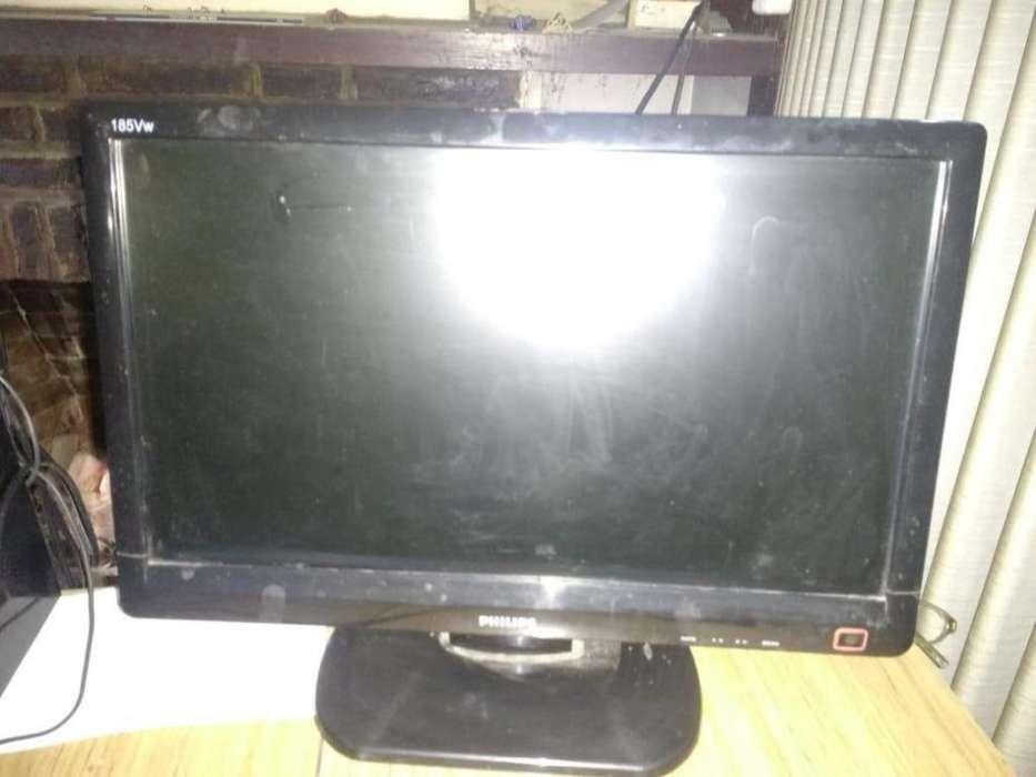 <strong>monitor</strong> Lcd 18,5 Pulgadas Marca Philips 185vw - Usado