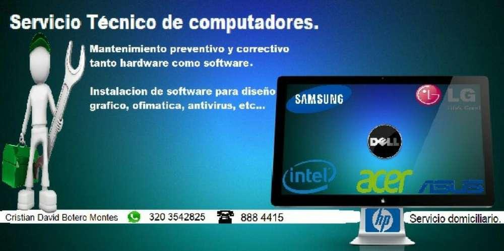 Servicio Tecnico de Computadores.