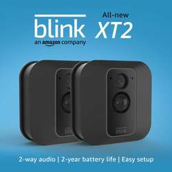 Blink Xt2 - Set Incluye 2 Cámaras De Interior Y Exterior