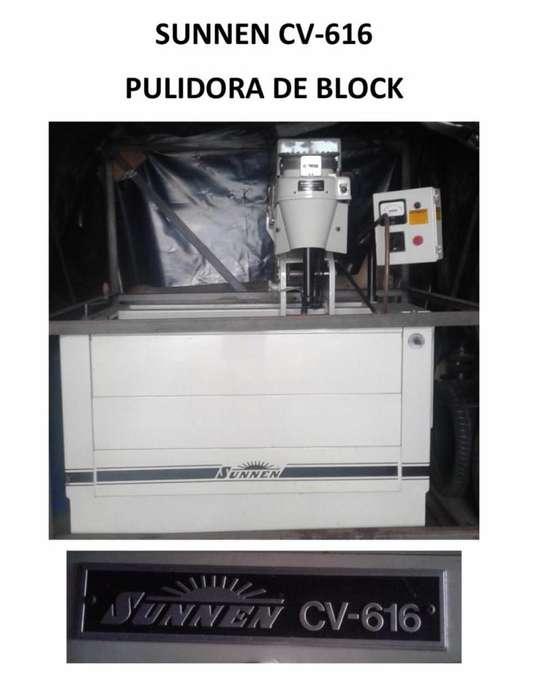 PULIDORA DE BLOCK SUNNEN