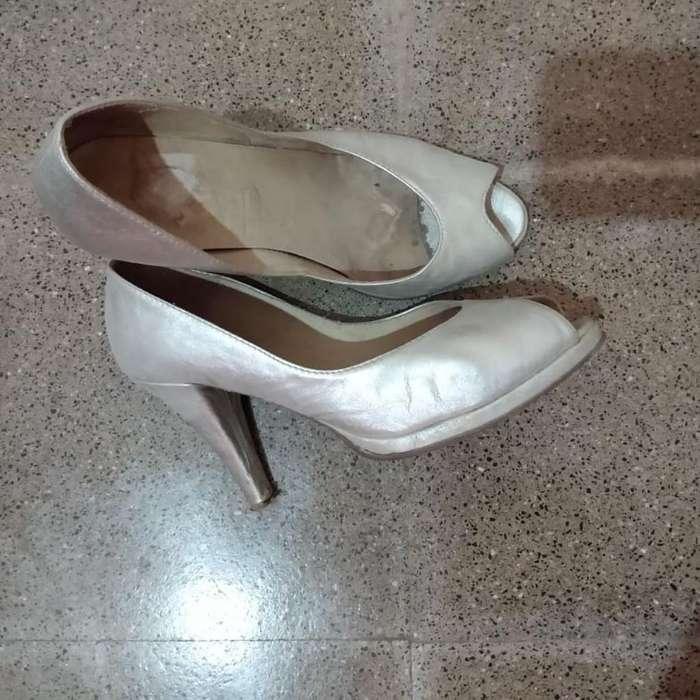 <strong>zapatos</strong> Plateados