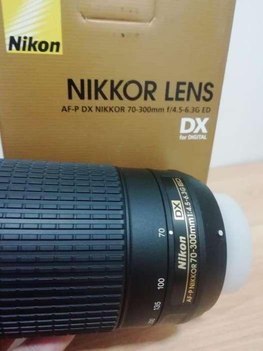 Lente 70-300mm Nikon