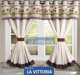Cortinas para Cocina, Varios Diseños y Colores - Quito